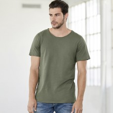 MEN'S JERSEY RAW NECK T 100%C