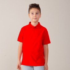 EVOLUTION POLO KIDS S/S100%C
