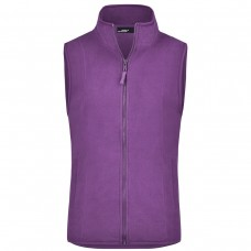 GIRLY M/FLEECE VEST 100%P J&N