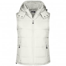LADIES PADDED VEST 100%P J&N