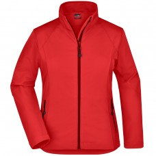 LADIES SOFTSHELL 90%P 10%E J&N