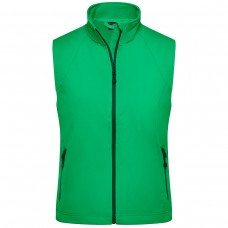 LADIES SOFTSHELL VEST 90%P 10%