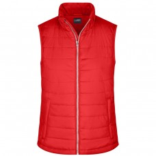 LADIES' PADDED VEST 100% P