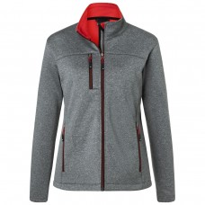 LADIES' SOFTSHELL JACKET 100%P