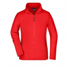 W BASIC FLEECE JACKET 100%P