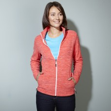 LADIES' FLEECE JACKET 100%P