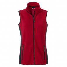 W WORKWEAR FLEECE VEST 100%P