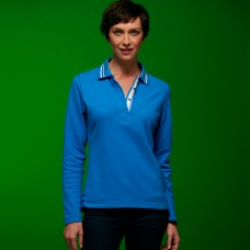 LADIES POLO M/L 100%C J&N