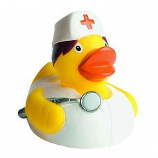 SQUEAKY DUCK, NURSE 100%PVC