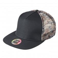 MESH CAP CAMOUFLAGE 100%P