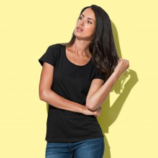 WOMAN CREW NECK T-SHIRT 100%C