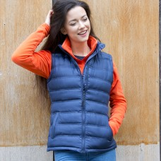 W ICE BIRD PADDED GILET 100%N