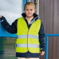 JUNIOR SAFETY VEST 100%P