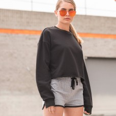 WOMEN'S CROPPED SWEAT 80%C20%P