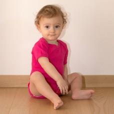 BABY BODY SHORT SLEEVES 100%C